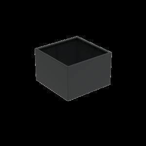 Adezz Producten Pflanzgefäß Aluminium Square Florida 120x120x80cm