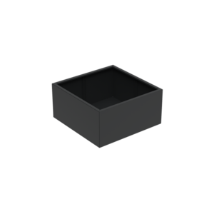 Adezz Producten Planter Aluminum Square Florida 120x120x60cm