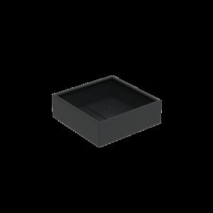 Adezz Producten Pflanzgefäß Aluminium Square Florida 120x120x40cm