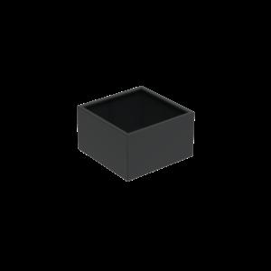 Adezz Producten Pflanzgefäß Aluminium Square Florida 100x100x80cm