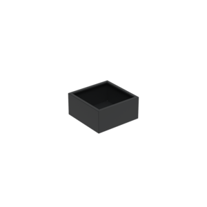 Adezz Producten Pflanzgefäß Aluminium Square Florida 80x80x60cm