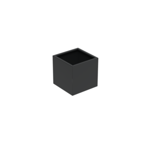Adezz Producten Pflanzgefäß Aluminium Square Florida 70x70x70cm