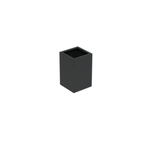 Adezz Producten Pflanzgefäß Aluminium Square Florida 50x50x80cm