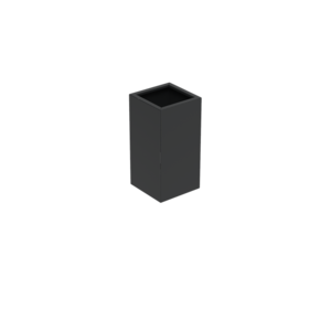 Adezz Producten Pflanzgefäß Aluminium Square Florida 50x50x100cm