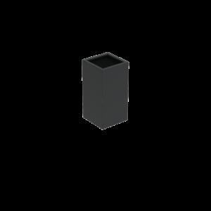 Adezz Producten Planter Aluminum Square Florida 50x50x100cm