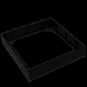Adezz Producten Pflanzgefäß Aluminium Square Florida ohne Boden 200x200x40cm