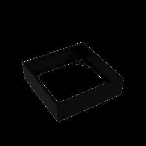 Adezz Producten Pflanzgefäß Aluminium Square Florida ohne Boden 140x140x40cm