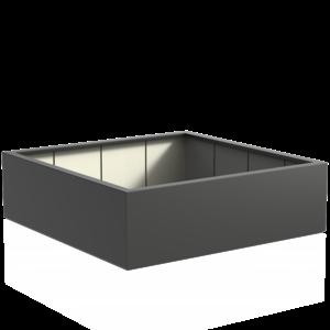 Adezz Producten Pflanzgefäß Polyester Square Buxus 200x200x60cm