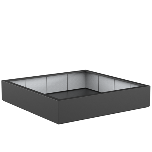 Adezz Producten Planter Polyester Square Boxwood 200x200x40cm