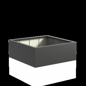 Adezz Producten Pflanzgefäß Polyester Square Boxwood 160x160x60cm