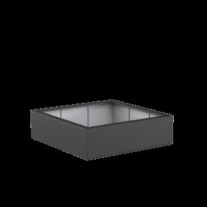 Adezz Producten Plantenbak Polyester Vierkant Buxus 140x140x40cm