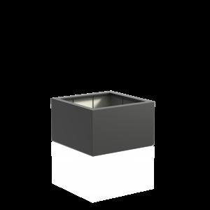 Adezz Producten Plantenbak Polyester Vierkant Buxus 100x100x60cm