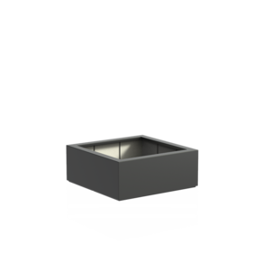 Adezz Producten Pflanzgefäß Polyester Square Boxwood 100x100x40cm