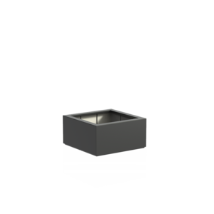 Adezz Producten Pflanzgefäß Polyester Square Boxwood 80x80x40cm