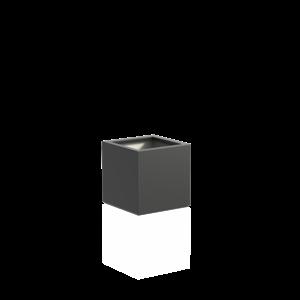 Adezz Producten Pflanzgefäß Polyester Square Boxwood 60x60x60cm