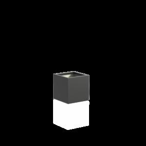 Adezz Producten Pflanzgefäß Polyester Square Boxwood 50x50x50cm