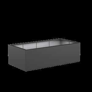 Adezz Producten Pflanzgefäß Polyester Rechteck Buchsbaum 200x100x60cm