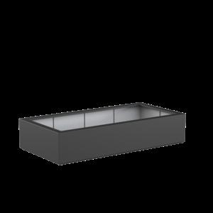 Adezz Producten Pflanzgefäß Polyester Rechteck Buchsbaum 200x100x40cm