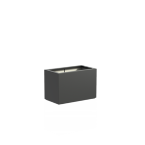 Adezz Producten Pflanzgefäß Polyester Rechteck Buchsbaum 90x50x60cm
