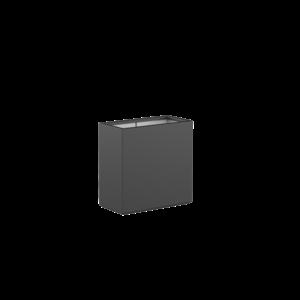 Adezz Producten Pflanzgefäß Polyester Rechteck Buchsbaum 80x40x80cm