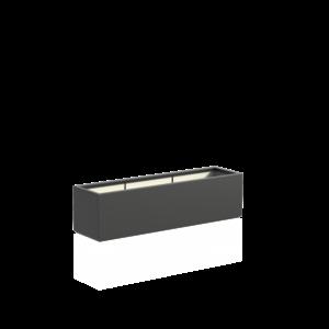 Adezz Producten Pflanzgefäß Polyester Rechteck Buchsbaum 150x40x40cm