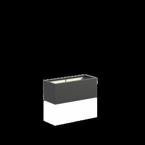 Adezz Producten Pflanzgefäß Polyester Rechteck Buchsbaum 100x40x40cm