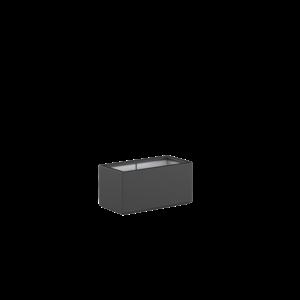 Adezz Producten Pflanzgefäß Polyester Rechteck Buchsbaum 80x40x40cm