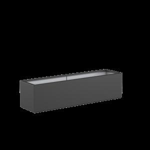 Adezz Producten Pflanzgefäß Polyester Rechteck Buchsbaum 200x50x50cm