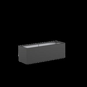 Adezz Producten Pflanzgefäß Polyester Rechteck Buchsbaum 150x50x50cm