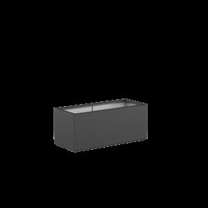 Adezz Producten Pflanzgefäß Polyester Rechteck Buchsbaum 120x50x50cm