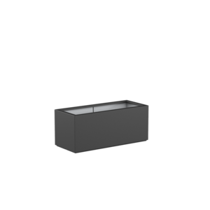 Adezz Producten Planter Polyester Rectangle Boxwood 120x50x50cm