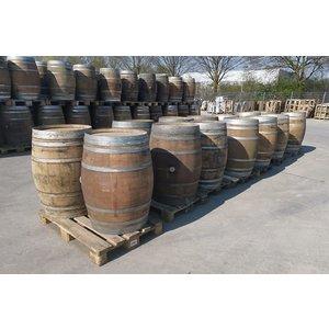 Wine barrel rain barrel 225 liters French oak