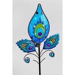 Tuinsteker Fantasie blauw