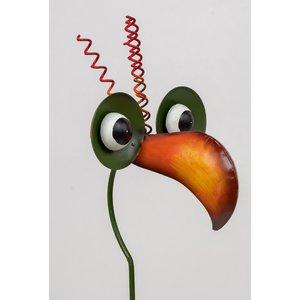 Garden plug Bird yellow beak