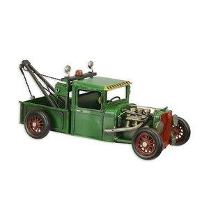 Metalen miniatuur model Hot rod truck