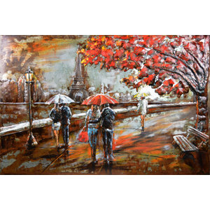 Metal 3D painting Beautiful Day