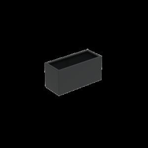 Adezz Producten Pflanzgefäß Aluminium Rechteck Florida mit Beinen 120x50x60cm