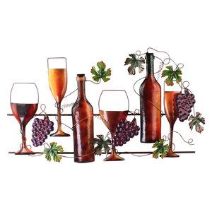 Wanddecoratie Lovely wine