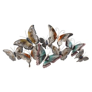 Wall decoration Butterflies together