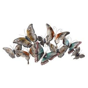Wanddecoratie Vlinders bij elkaar