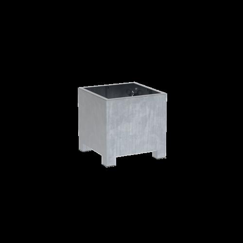 Adezz Producten Plantenbak Verzinkt Staal Vierkant Vadim 70x70x70cm