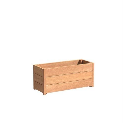 Adezz Producten Plantenbak Hardhout Rechthoek Sevilla 100x40x44cm