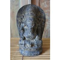 Ganesha im Lotus ist 28cm