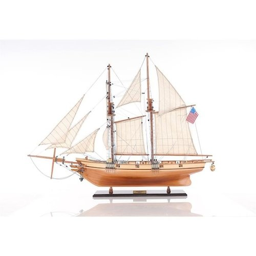 Model sailboat Harvey