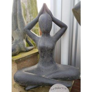 Eliassen Yoga statue Sukhasana 80cm