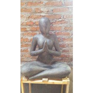 Eliassen Yogabild salutiert 80cm