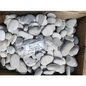 Ornamental boulders mix cream / brown