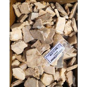 Ornamental boulders flat mosaic brown mix
