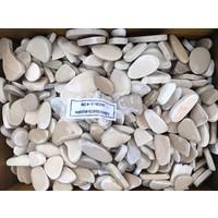 Ornamental boulders slices mix brown