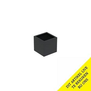 Adezz Producten Pflanzgefäß Aluminium Square Florida 60x60x60cm